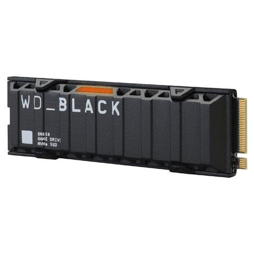 PS5 Game Drive SSD 500GB intern Western Digital  mit Heatsink