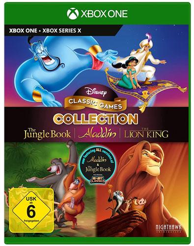 Disney Classic Collection #2  XB-One Aladdin,Lion King,Jungle Book