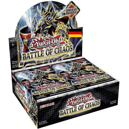 Yu Gi Oh!Booster-D-Battle of Chaos 24-er Display 24 Pack  deutsch