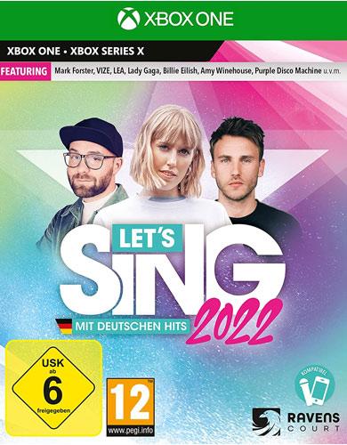 Lets Sing 2022  XBSX mit deutschen Hits